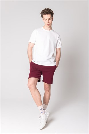 JOHN FRANK BASIC SHORT BORDO