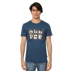 JOHN FRANK BASKILI COOL T-SHIRT MULTICOLOR