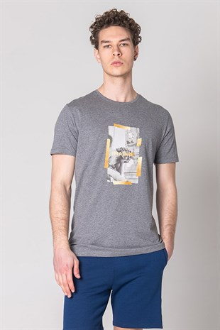 JOHN FRANK COOL T-SHIRT MULTICOLOR
