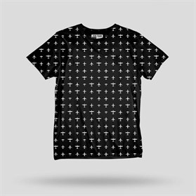 JOHN FRANK MONOCHROME T-SHIRT MULTICOLOR