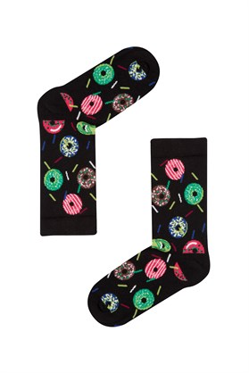 JOHN FRANK WOMEN FUN SOCKS UZUN ÇORAP MULTICOLOR